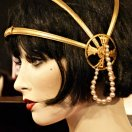 1920s Hair Style with Head Dress
