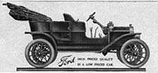 1908 Model T Ford or Tin Lizzie