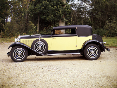 1928 Hispano Suiza in Yellow and Black
