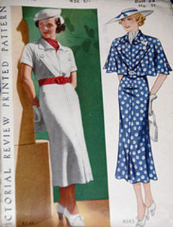 1930's Patterns and Images - Sense & Sensibility PatternsWinsome