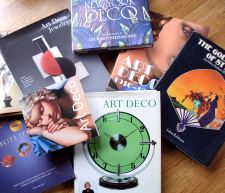 Collectors guides, Books on Art Deco