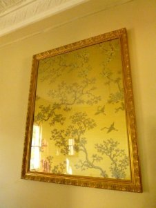 Art Deco Wallpaper by Florence Broadhurst - Framed