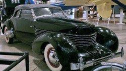 1930s cars, 1930s automobiles, art deco cars, 1930s car, Cord 810