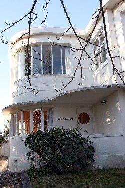 Art Deco houses,  art deco home