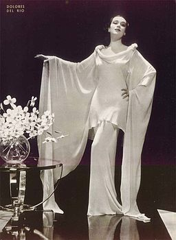 1930s Long White Evening Dress