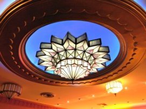 Art Deco Chandelier - Hayden Orpheum