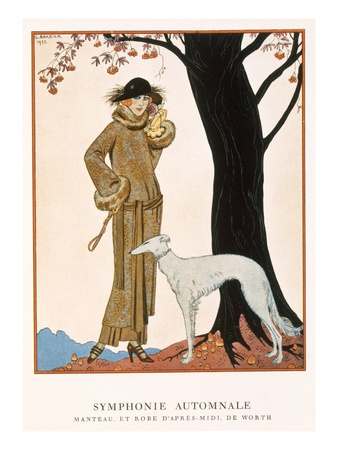 Georges Barbier - Autumnal Symphony
