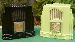 Australian AWA Bakelite Radios