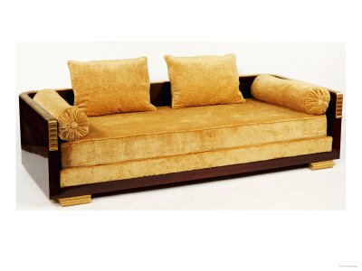 Rosewood Day Bed by Jacques-Emile Ruhlmann
