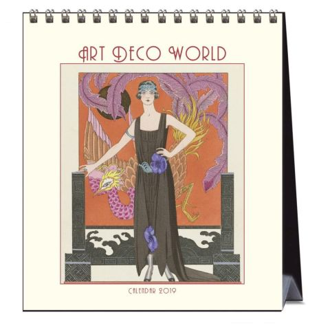 George Barbier Desk Calendar