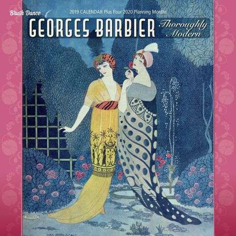 George Barbier Art Deco Fashion Print Calendar