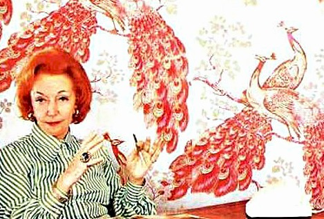 Florence Broadhurst and her Wallpaper