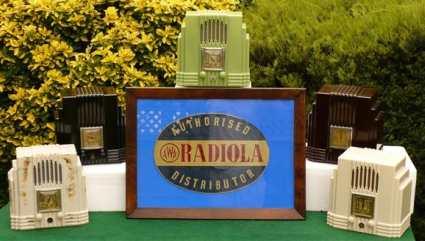 Bakelite Radios including AWA Radiolette