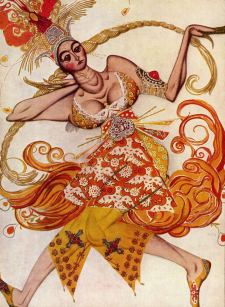 Bakst Firebird - the Ballet Russes