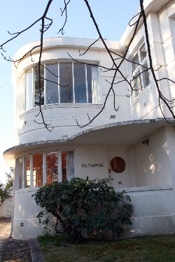 Art Deco houses,  art deco home