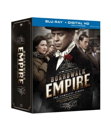 Boardwalk Empire - Complete Collection DVD Cover