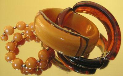 Vintage Bakelite Bracelets