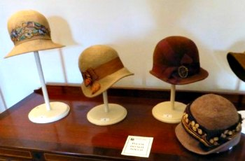 Brown Cloche Hats for Keeping Warm