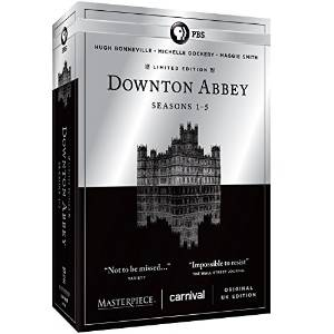 Downton Abbey Complete Collection DVD Cover
