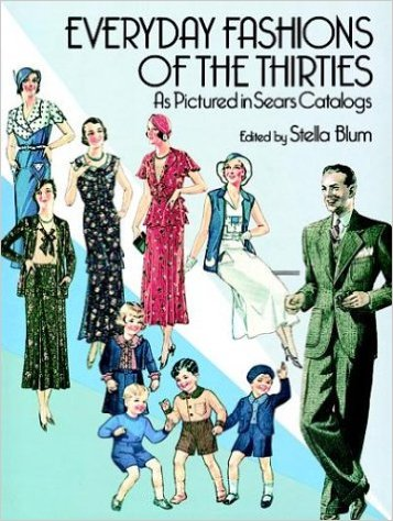 Book Cover - Everyday Fashions of the 1930s