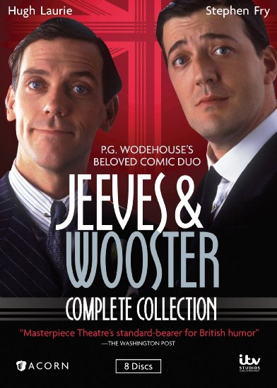Jeeves and Wooster DVD Cover