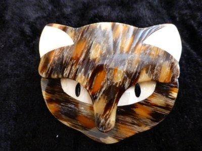 Lea Stein Bacchus Cat Tortoiseshell Colours