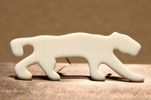 Lea Stein Panther Brooch