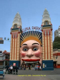Art Deco City, Luna Park Sydney, Art Deco places