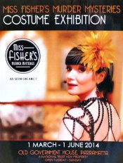 Poster for Miss Fisher's Costume Exhibition