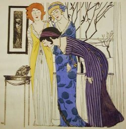 Paul Poiret Designs Illustrated by Paul Iribe