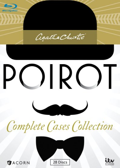 Poirot Complete Collection DVD Cover