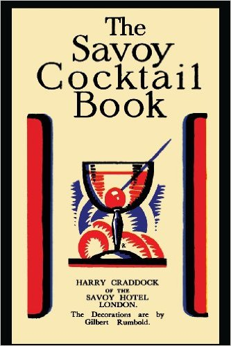 Cover Savoy Cocktail Book by Harry Craddock