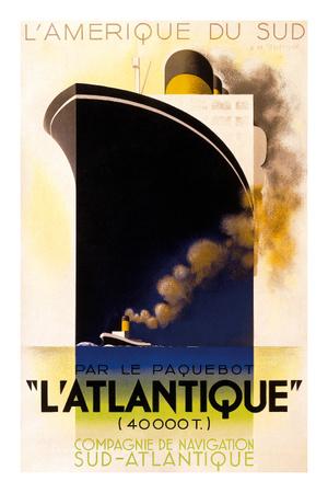 L'Átlantique Poster