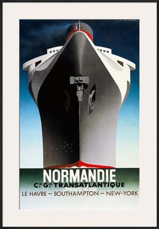 Cassandre Normandie Poster
