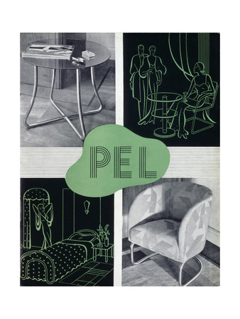 Pel Tubular Furniture Advert 1930s
