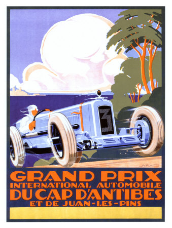 Automobile Poster by Alexis Kow