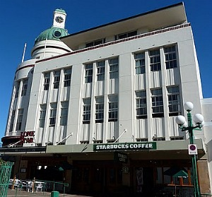 Art Deco Building - Napier Starbucks!