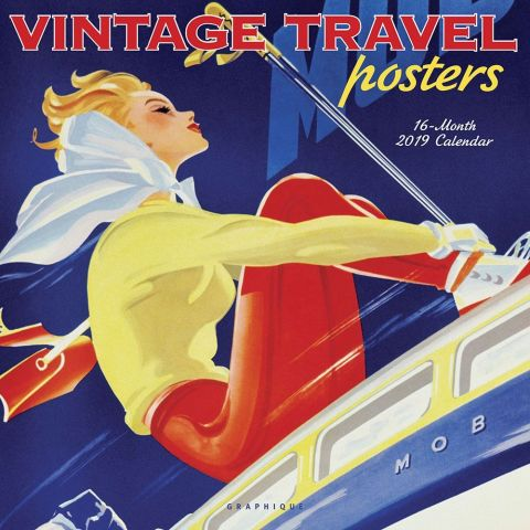 Art Deco Travel Posters Calendar