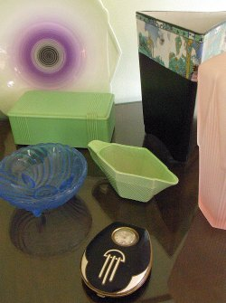 A Selection of Art Deco Antiques and Collectables
