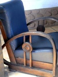 Exceptionnel Art Deco Armchair Found In Bali