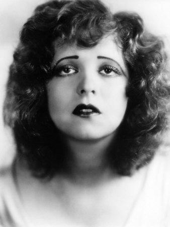 1920s Actress Clara Bow 1928