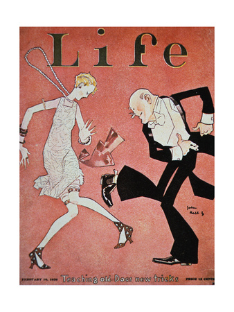 Dancing the Charlston - Cover of Life Magazine Print