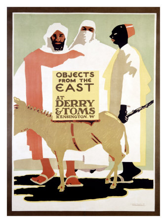 McKnight-Kauffer - Objects from the East - Poster