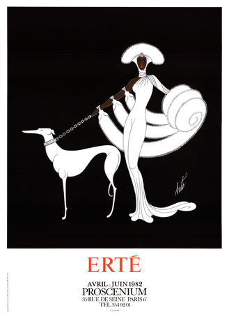 Erte Symphony in White
