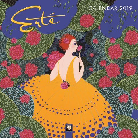 Erte wall calendar