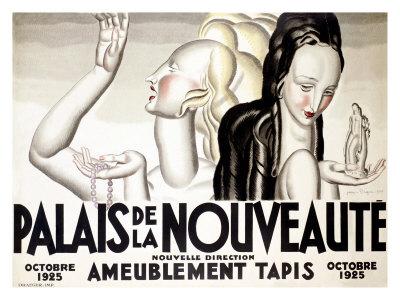 Jean Dupas - Palais de la Nouveaute