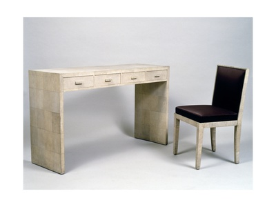 Art Deco Desk and Chair by Jean-Michel Frank