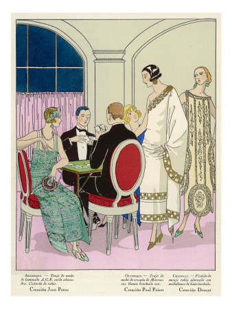 Fashions by Poiret, Jean Patou and Doucet