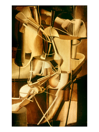 Marcel Duchamp - Mari-E Cubist Work