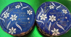 Le Narcisse Bleu Powder Boxes